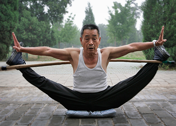 benefits of stretching old man
