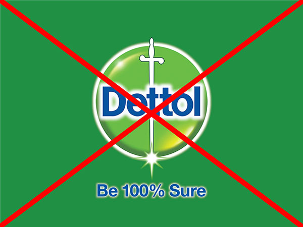 Reasons why Dettol is bad for health
